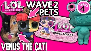LOL Surprise Series 4 Under Wraps LOL Dolls + LOL Series 4 Wave 2 Pets | LOL Doll Videos | L.O.L.
