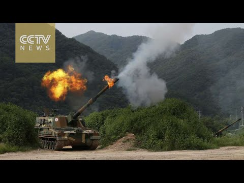 Korean Peninsula tensions: South Korea conducts largest-ever live-fire artillery drill