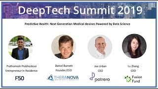Predictive Health: Next generation medical devices powered by data science,  DeepTech Summit 2019