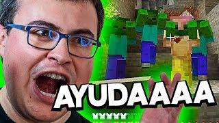 METERTE EN UNA MINA ES DEMASIADO ESTRESANTE ¡¡AYUDAAA!! | EliteCraft #2
