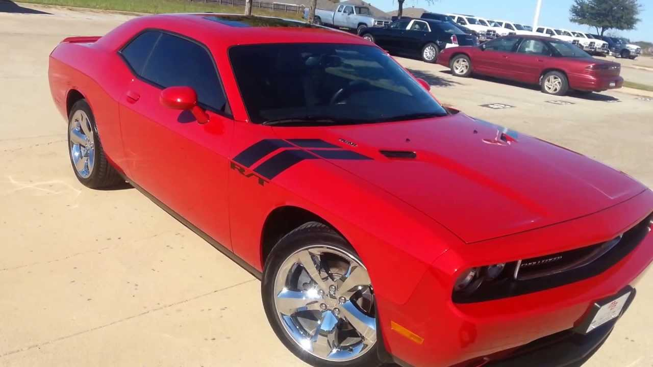 For Sale 2011 Dodge Challenger R T Candy Apple Red Youtube