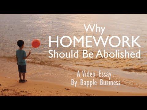 Why Homework Should Be Abolished