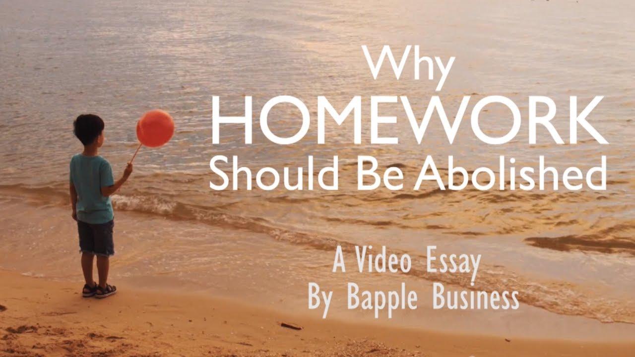 homework should be abolished