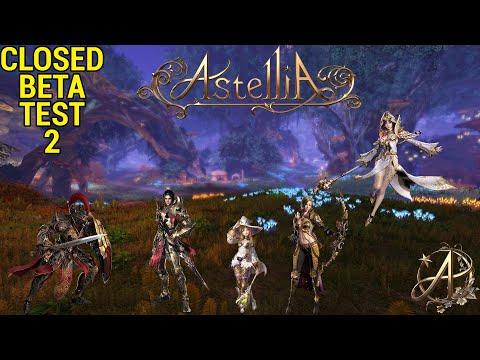 Astellia: Online Closed Beta Test 2 - Checking the game out