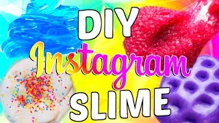 DIY INSTAGRAM SLIME TESTED! CUPCAKE BATTER SLIME, GALAXY SLIME, METALLIC SLIME