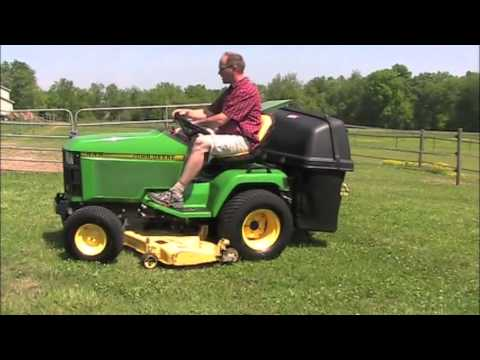 John Deere 445 Lawn Tractor Bagger For