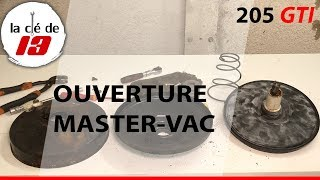OUVERTURE MASTERVAC 205 GTI