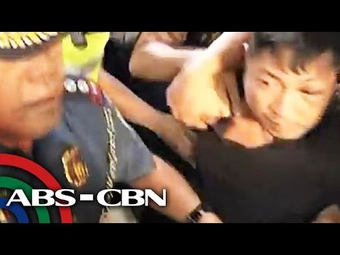 ANC: Road rage suspect arrives in Manila