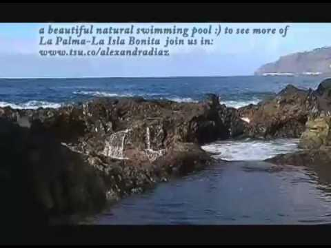 La Palma Natural Swimming Pool Youtube
