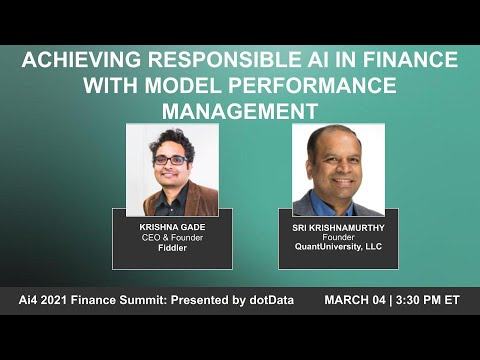 Achieving Responsible AI in Finance With Model Performance Management