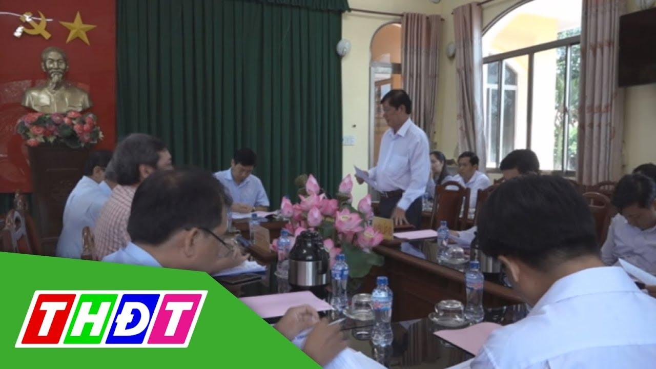 Đồng Tháp: Phó Chủ tịch UBND tỉnh làm việc tại huyện Lấp Vò | THDT