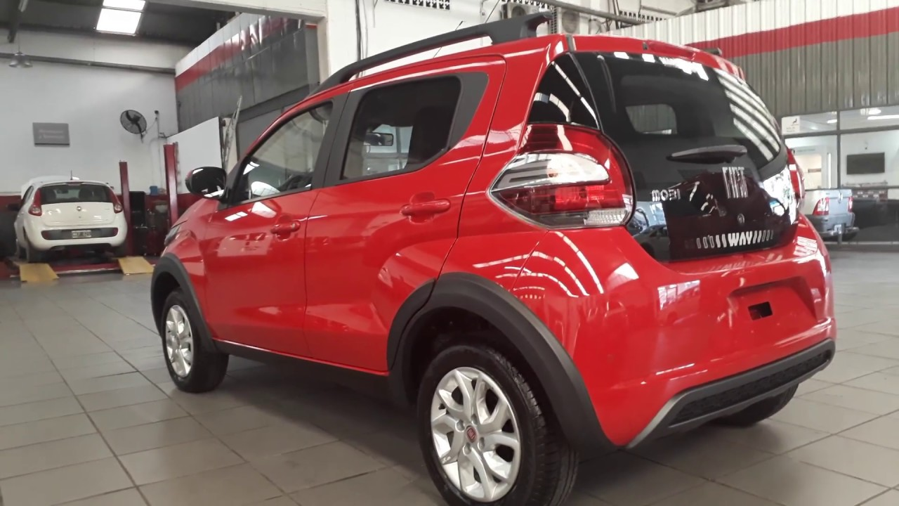 Nuevo Fiat Mobi Way  U00a8live On U00a8linea Nueva Mayo 2017