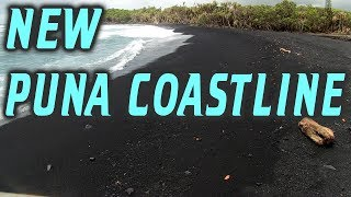 New Kilauea Volcano Puna Coastline Kapoho to Pohoiki Hawaii LATT #3