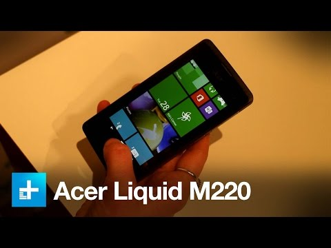 Acer Liquid M220 - Hands On