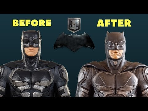 Jakks Pacific Tactical Batman (Justice League) Makeover- Chris' Custom Collectables!
