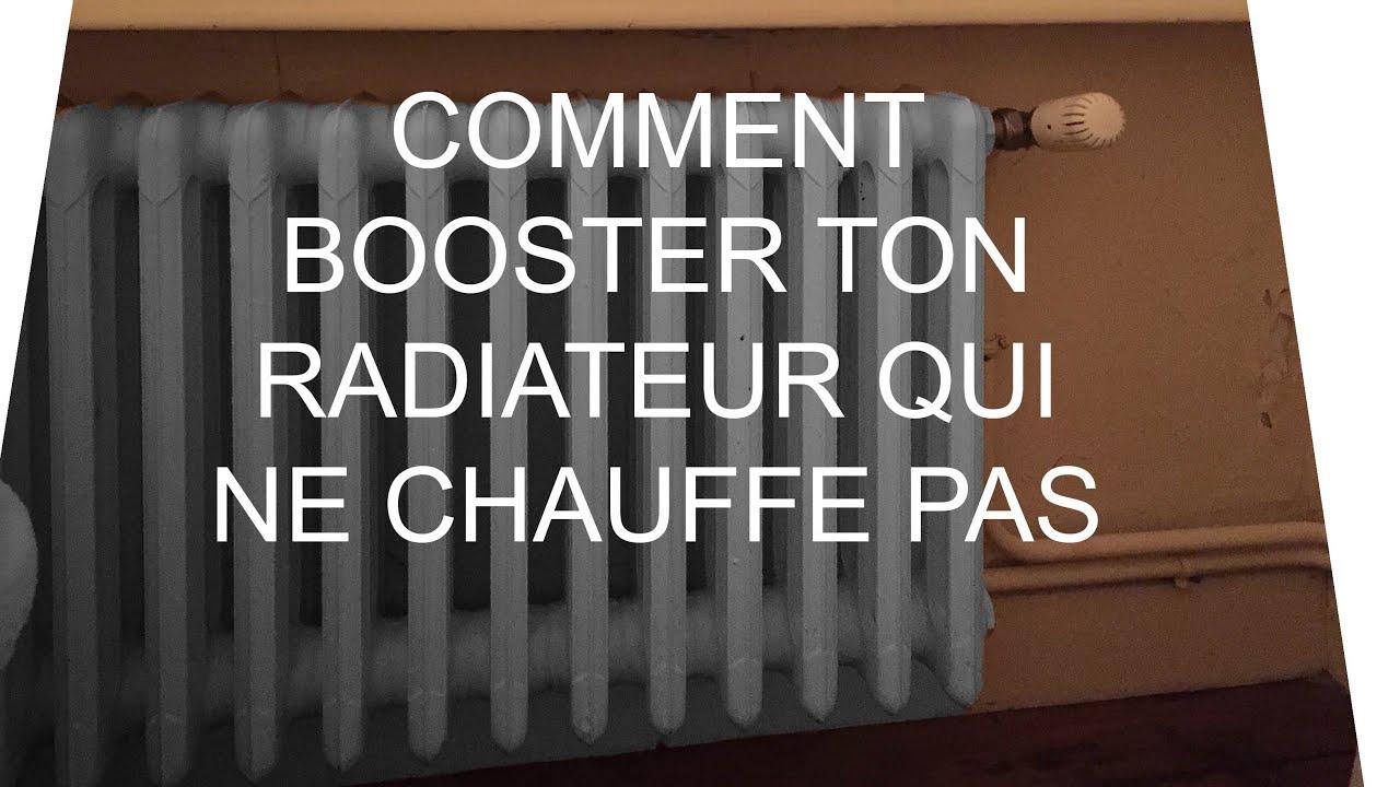 comment booster ton radiateur qui ne chauffe pas youtube. Black Bedroom Furniture Sets. Home Design Ideas