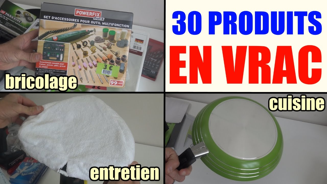 30 Produits En Vrac Lidl Parkside Powerfix Etc Liste En Desciption
