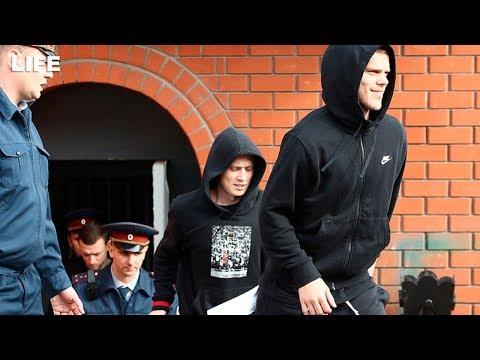 Как Мамаев и Кокорин выходили на свободу