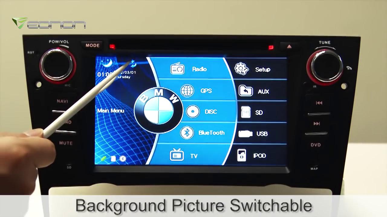 Eonon D5114 Specific Bmw E90/E91/E92/E93 Gps With Newest 2012 Sygic Map   Eonon Official 02:07 HD