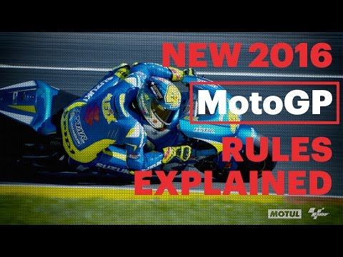 New 2016 MotoGP Rules Explained | #MotoGPBuzz Technical Videos