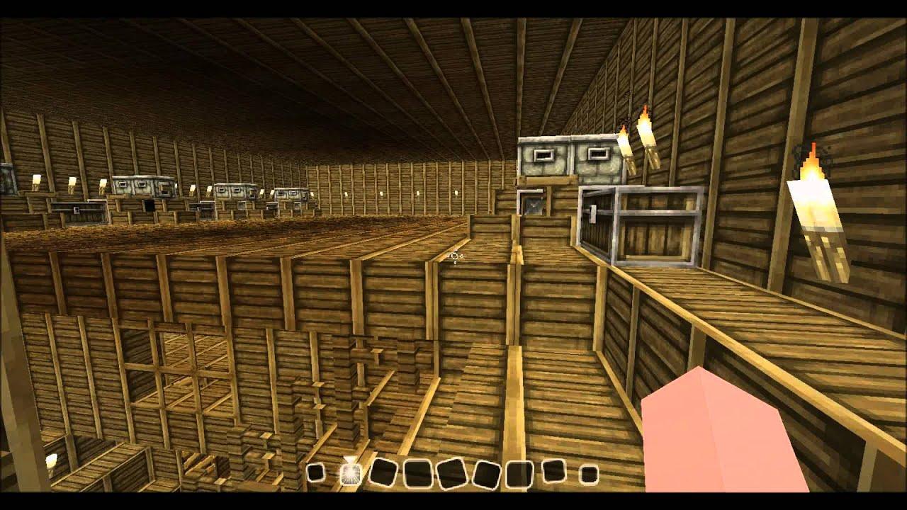 Construction de fou minecraft 1 bateau pirate youtube - Minecraft construction de fou ...