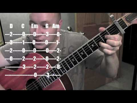 Wasting All My Tears on You- Guitar Lesson / Tutorial (Standard Chord Version) Cassadee Pope