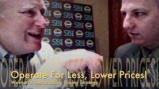 Walmart Sustainable Pricing Strategy, Jeff Rice Director of Sustainability