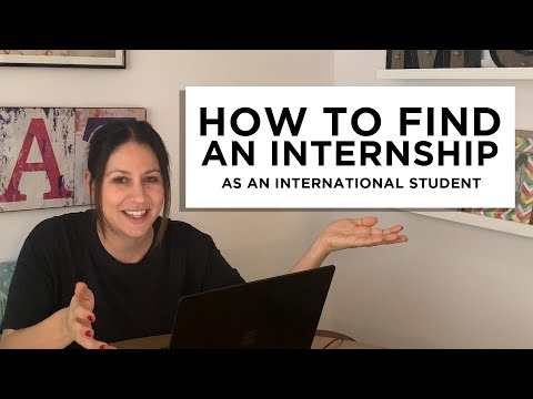 How to Find an Internship as an International Student | The