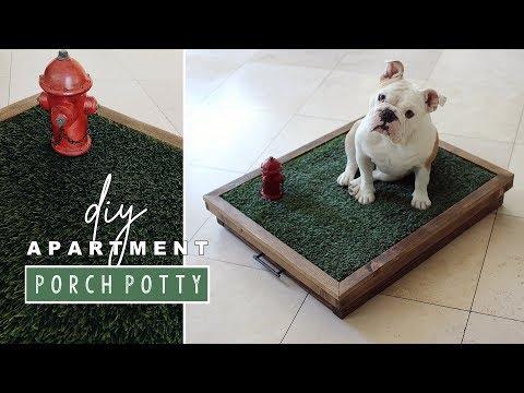 DIY Pet Porch Potty