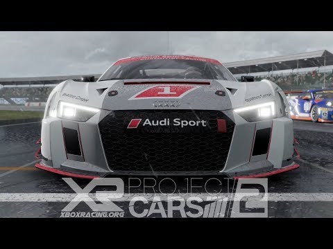 ⛈️Thunderstorm | Project CARS 2 WiP - Audi R8 LMS @ Silverstone