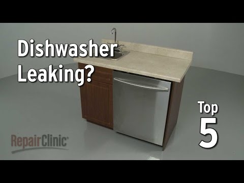 Top 5 Reasons Dishwasher is Leaking?