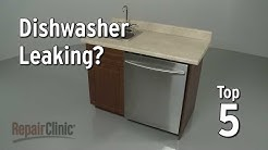 Top 5 Reasons Dishwasher Leaks — Dishwasher Troubleshooting