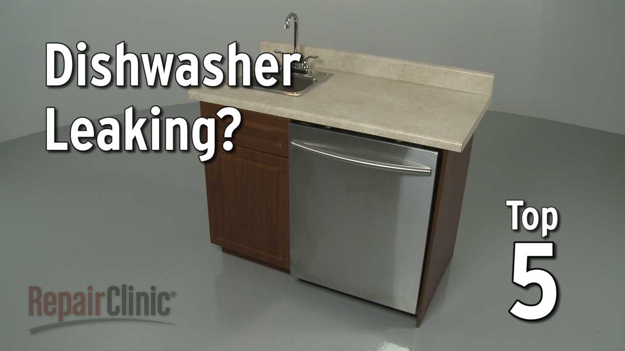 Top 5 Reasons Dishwasher Leaks Dishwasher