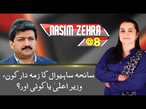 Hamid Mir Big Statement On Fake FIR In Sahiwal Operation | Nasim Zehra @ 8 | 24 News HD