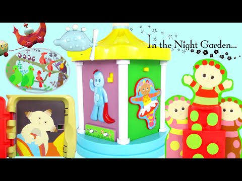 IN THE NIGHT GARDEN Explore & Learn Musical Carousel Toy Review Family Video