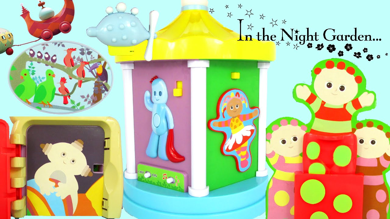In The Night Garden Explore Learn Musical Carousel Toy Review Family Video