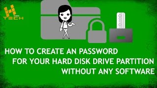 Hard drive locked| How to lock an External hard drive|Lock your Hard disk