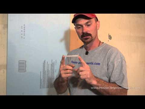 How To Attach Rigid Foam Insulation To Concrete