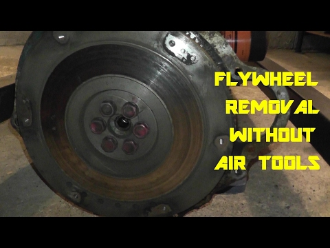 Flywheel Removal with Basic Hand Tools
