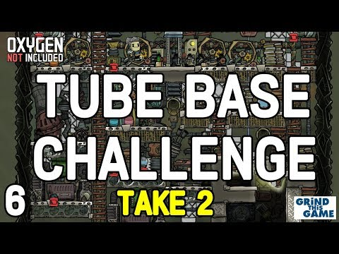 THE TUBE COLONY CHALLENGE (Take 2) #6 - Oxygen Not Included Tubular Upgrade [4k]