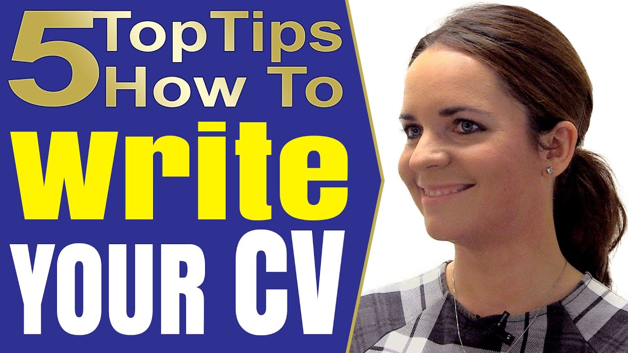 How To Write A Good Resume that works and CV writing tips - YouTube