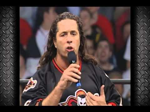 Bret Hart 'steel plate' segment - WCW Nitro March 29th 1999