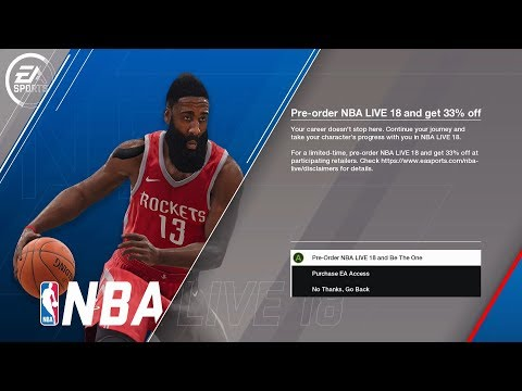 NBA LIVE 18 Demo Continue Playing After Level 20 ⋆#NBALIVE18⋆