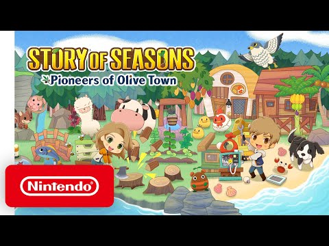 Story of Seasons: Pioneers of Olive Town – Nintendo Direct Mini: Partner Showcase | October 2020