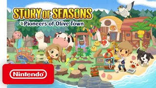 Story of Seasons: Pioneers of Olive Town - Nintendo Direct Mini: Partner Showcase | October 2020