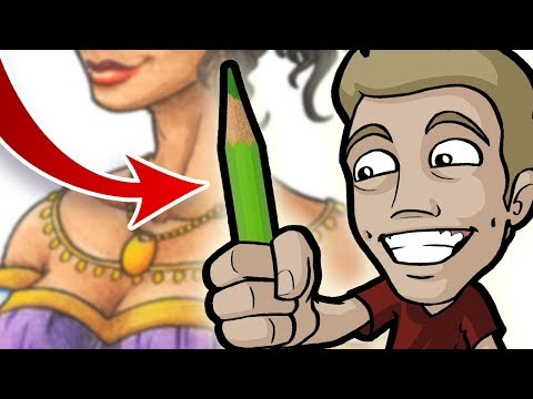 How to COLOR with PENCILS Like a PRO!