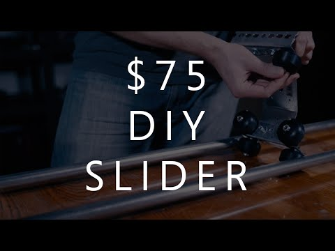 How to Make a DIY Camera Slider for $75 In Less than 3 Hours