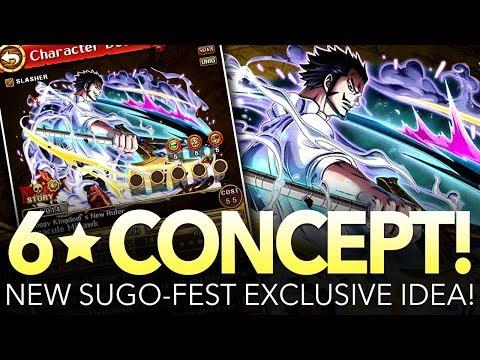 Toadskii's 6★ Legend V2 Mihawk Concept!!! (One Piece Treasure Cruise)