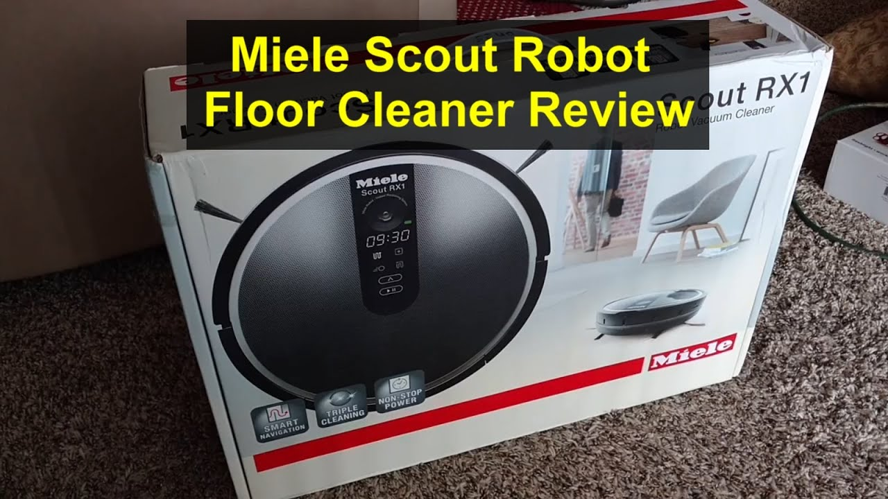 Miele Scout RX1 robot vacuum cleaner review, demonstration