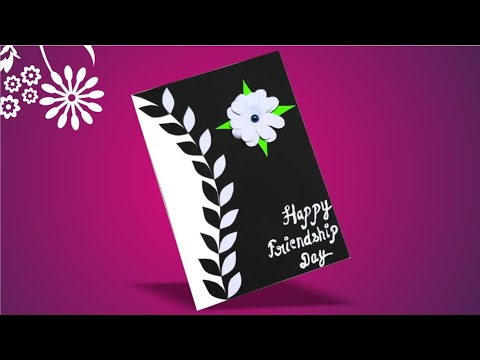 Beautiful Handmade Friendship Day Card idea/DIY Greeting cards for Friendship/Gift idea for friends